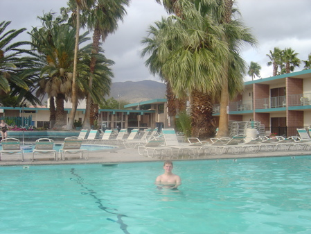 Me in the Pool in Desert Hot Springs