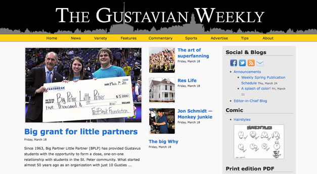 The Gustavian Weekly