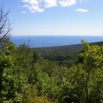 View of Lake Superior near Lutsen