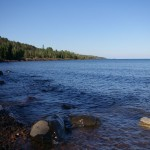 Lake Superior near Lutsen