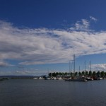 Harbor on Lake Superior in Thunder Bay, Canada