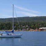 Harbor on Lake Superior in Grand Marais