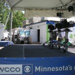 WCCO's cameras are all ready for the next newscast.