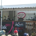 A close-up of the MyTalk 107.1 crew.