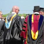 Receiving my degree from Professor Phillip Voight