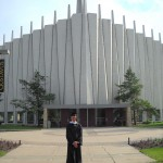 In front of Christ Chapel