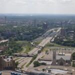 Downtown freeway access