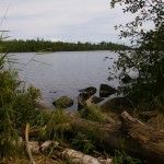 Picnic area on The Gunflint Trail