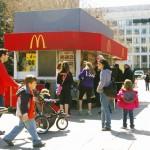 Small McDonald's location