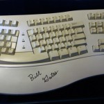 Bill Gates' Microsoft Natural Keyboard