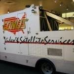 Conus Ku band satellite truck