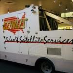 Conus Ku band satellite truck
