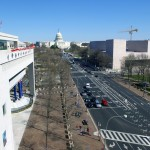 Newseum 6th floor view