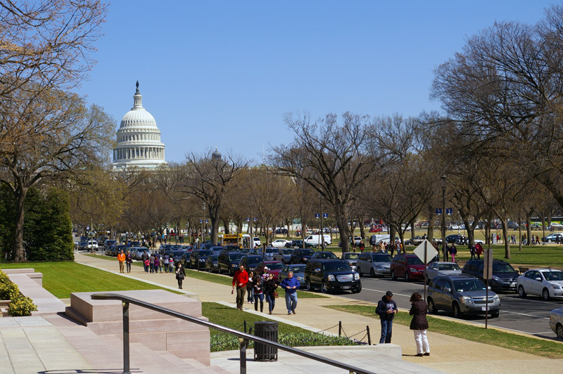 National mall and capitol